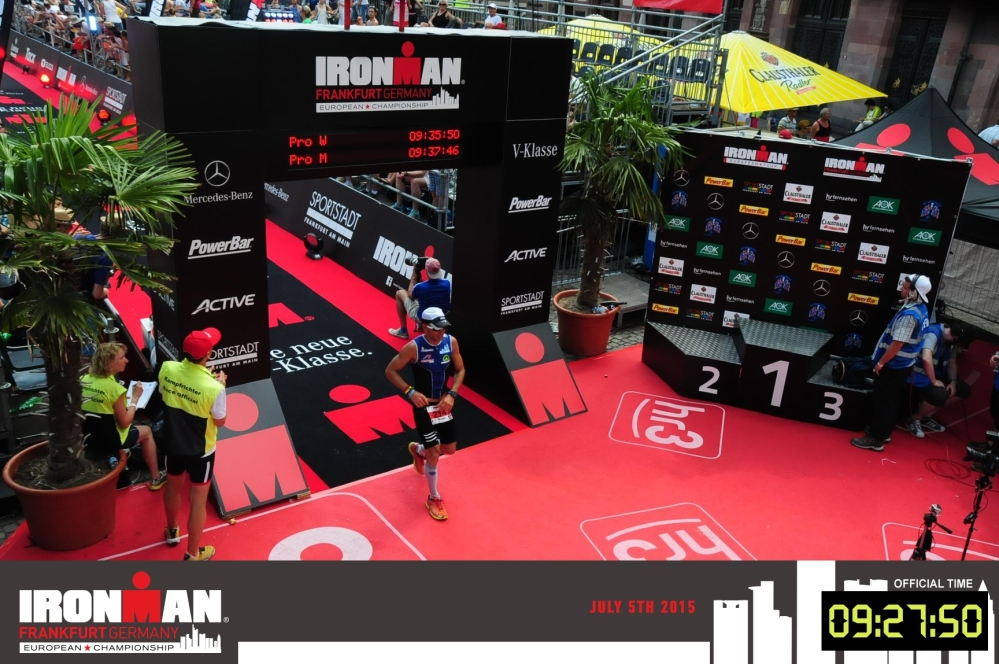 Championnat d'Europe d'Ironman Francfort 2015 : sous une chaleur CANICULAIRE (1/6)