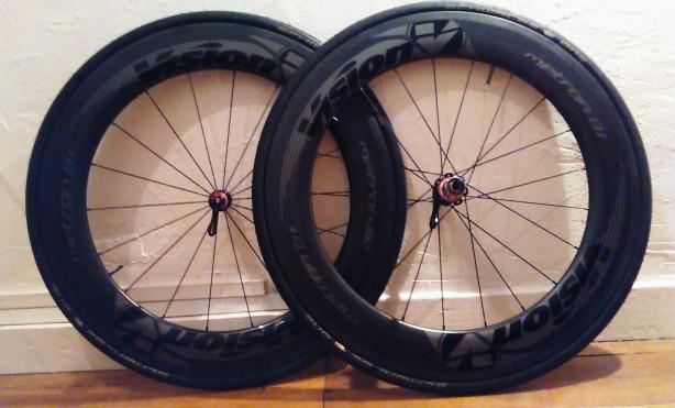 Roues vision metron 81 pneu noires